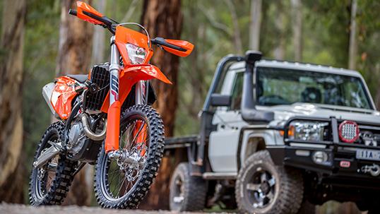 Win A Ktm 500 Exc F Dirt Bike Warrnambool Offroad